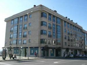 BASISA. Edificio en la calle Aragón, en Vigo